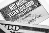 Stock Certificate Shares with American One Hundred Dollar Bill