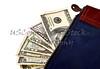 US Money in a Money Bag