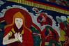 Painted murals of an Erdene Zuu Monastery hall
