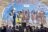 Opening ceremonies, Eagle Festival, Olgii, Western Mongolia