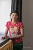 Portrait of a Mongolia girl, Olgii, Western Mongolia