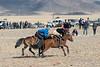 Winning strategy, Kukhbar competition, Eagle Festival, Olgii, Western Mongolia