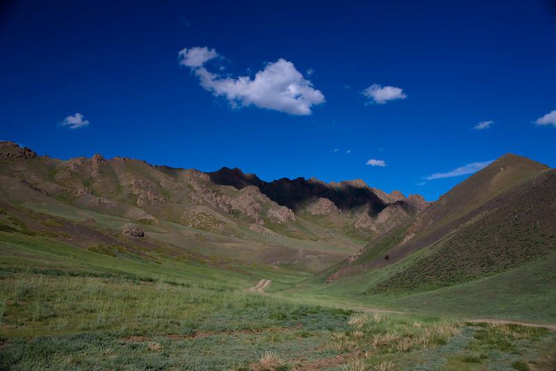 National park of Yolyn Am