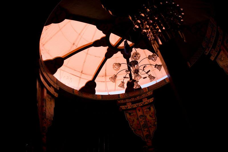 fancy yurt