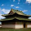 One of the temples in Erdene Zuu Khiid Monastery