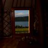 View from my yurt at Zuun Nuur - Zuu Lake
