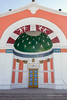 Soviet-build neo-classicaal theater, Khovd, Western Mongolia