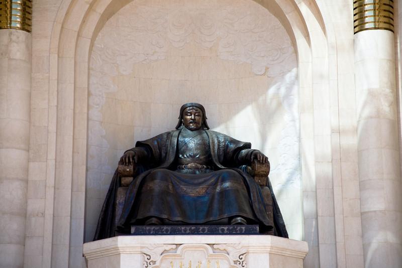 Genghis Khan, or Chinggis Khan as he is known in Mongolia