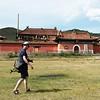 Yann exploring Amarbayasgalant Khiid