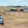 Families run small tourist camps near the monastery