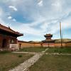 Exploring the empty monastery