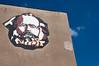 Marx mosaic on an Erdenet building