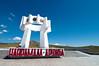 The Fraternity Monument, overlooking Erdenet