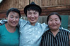 Bata and his sisters, the lovely hosts of Bata's Guesthouse
