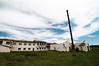 Abandoned factory in Khatgal
