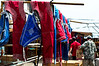 Wrestling clothes at the Naran Tuul Market