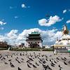 Gandan Khiid, Mongolia's most important Buddhist monastery