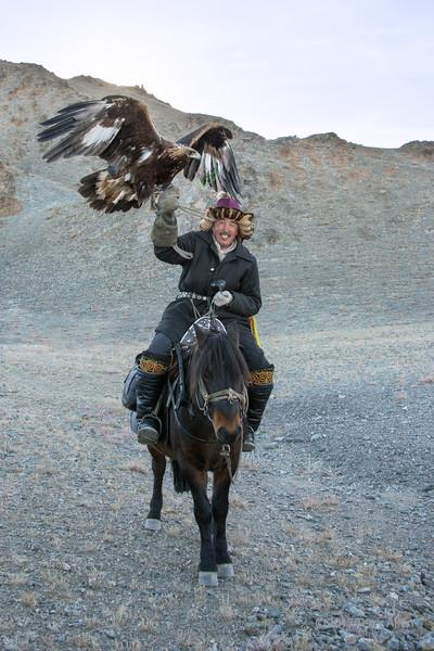 Kazakh eagle hunter #3