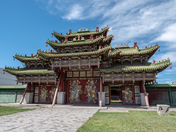 Winter Palace of the Bogd Khan gate