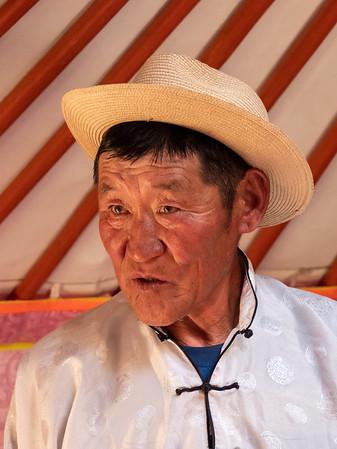 Mongolian nomadic herder