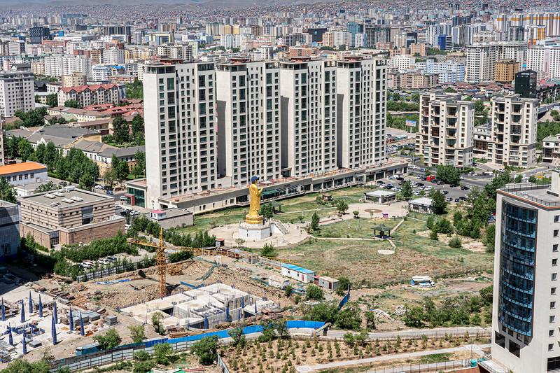 A view of Ulaanbaatar