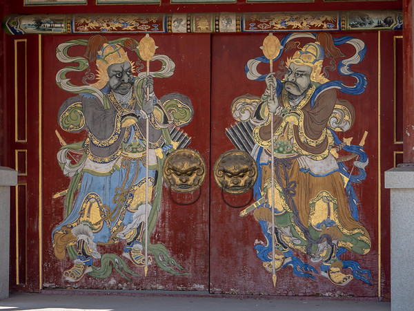 Bogd Khan gate doors