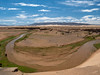 Gobi horseshoe bend