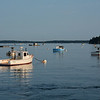 Early Morning in Port Clyde Harbor, Maine