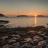 Frenchman Bay at Sunrise. Bar Harbor, ME