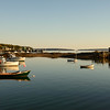 View of Bass Harbor form Thurston Lobster Pond. Bernard, ME