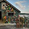 Thurston Dock on Bass Harbor. Acadia National Park
