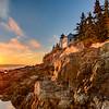 Bass Arbor Head Light House. Acadia National Park