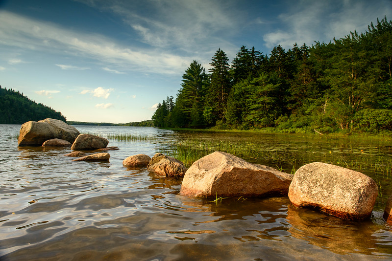 Echo Lake. Acadia National Park