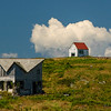 House on Manana Island. Monhegan, Maine