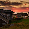 Sunset on Monhegan Harbor