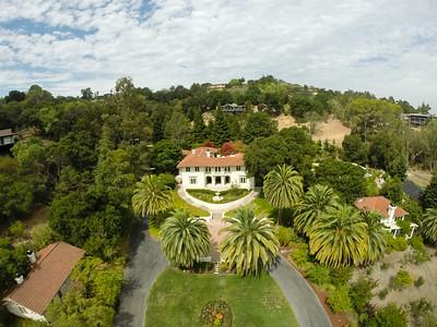 12775 Viscaino Road, Los Altos Hills   Aerial