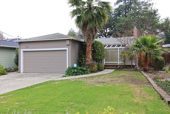 724 Laurel Ave, Menlo Park, CA  94025-2505, United States