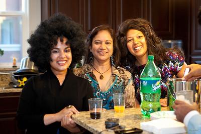 Monica & Gopi 70's Party