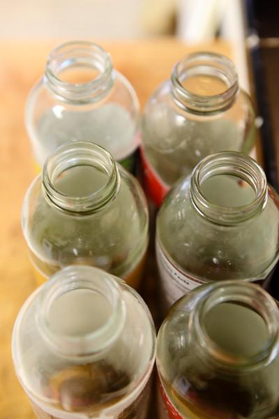 collect jars  for bottling