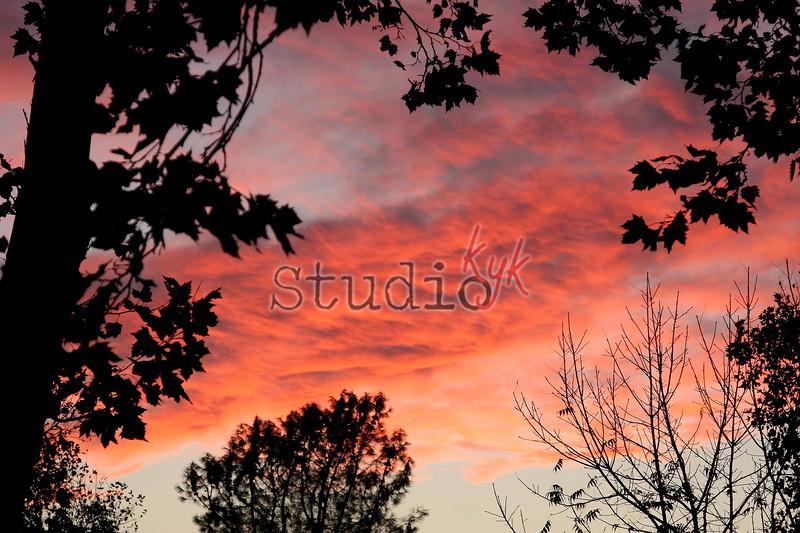 11.15.06 <br /> Fire Sky
