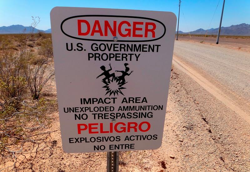 United States Army - Yuma Proving Ground, Arizona