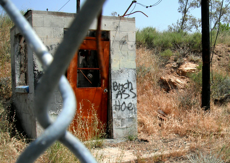 Nike Missile site LA-88 Oat Mountain, Chatsworth, California
