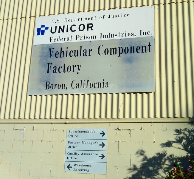 Boron Federal Prison, Boron California