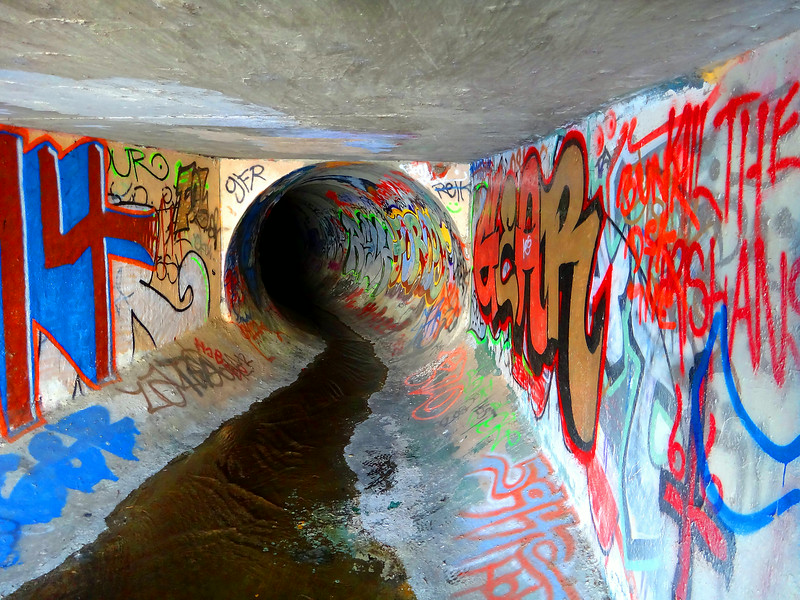 Random Sewer near Coyote Creek