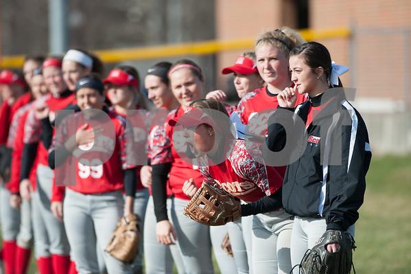 M.C. Vs. Cornell Softball Game 2 4/17/18