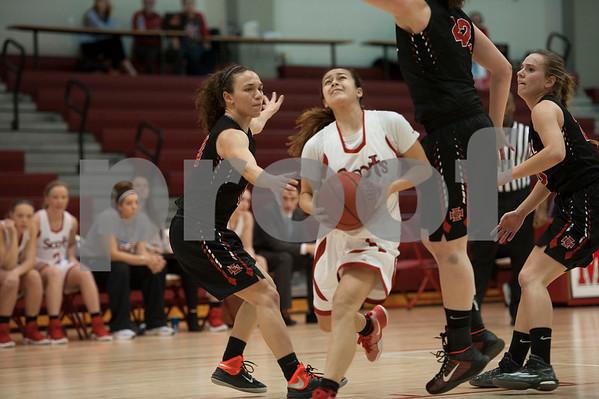 M.C. Vs. Grinnell Women's Hoops 1/18/17