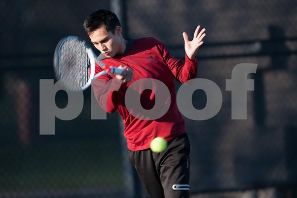 M.C. Vs. Knox Men's Tennis 4/19/18