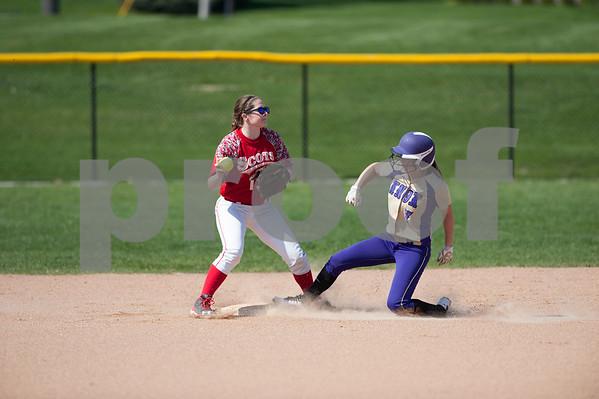 M.C. Vs. Knox Softball Game 1 4/12/17