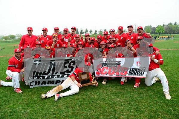 M.C. Vs. St. Norbert Baseball MWC Title 5/12/18