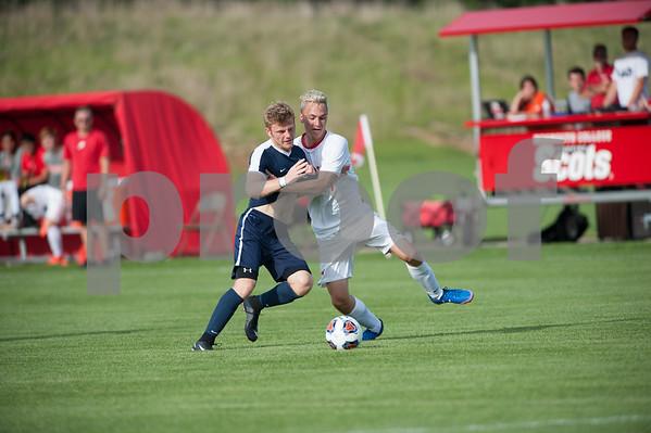 M.C. Vs. Webster Men's Soccer 8/31/18